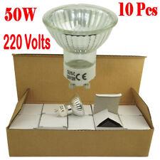 10x GU10 50W 220V halogen Globe Landscape Spot Bright Bulbs Cool White Spotlight
