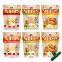 Whisps Cheese Crisps 6 Pack Assortment | Keto Snack, Gluten Free, Sugar Free, |