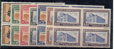 More details for brazil 1946 5th puc of the americas and spain mnh blocks of 4