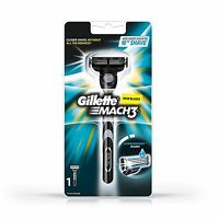 Gillette Mach 3 Mach3 M3 Classic Razor Handle New with Pre loaded Cartridge New
