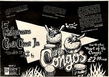 7/3/81PGN36 ADVERT: THE CONGOS FISHERMAN & HEART OF THE CONGOS 7X11
