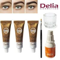 Delia Professional Tinting Eyelash & Eyebrow Dye Tint Lash Kit - All Colours
