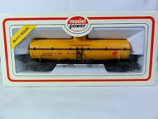 Model Power- HO scale - Chemical Tank Car -  Hudson Bay Oil & Gas