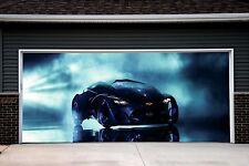 Auto Car Garage Door Outdoor 3D Billboard Cover Outside Decor Sticker Art GD103