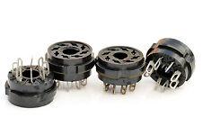 10x 8-pin Tube Sockets for 6P3S-E 6S4S 6L6 EL34 6SN7 5C3S KT88 6V6 5Z4 5U4G 6N8S