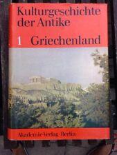 Kulturgeschichte Det Antike 1 Griechenland