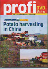 Tractor Farming DVD: POTATO HARVESTING IN CHINA