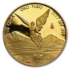 2017 Mexico 1/2 oz Proof Gold Libertad