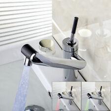 Bequem Küche Messing Waschbecken Mischer Drehhahn Wasserhahn LED