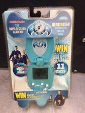 "MatchMaster DAVID BECKHAM Head to Head Electronic Handheld Soccer Game "" NIP """