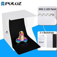 PULUZ Folding Portable Lightbox Photo Studio Shooting Box Tent Kit With 2 LED