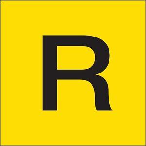 """Etichette Segnaletica per il trasporto di merci come rifiuti """"R"""" ADR"""