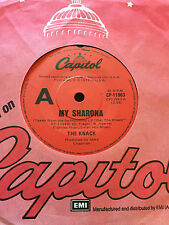 THE KNACK - - MY SHARONA - -1979 Australian CAPITOL - - Looks Unplayed NM