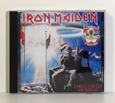 IRON MAIDEN - 2 MINUTES TO MIDNIGHT · ACES HIGH (CD) JAPAN - EMI 1990