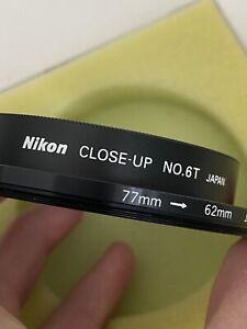 Nikon 62mm No. 6T Close-up Attachment Lens Filter