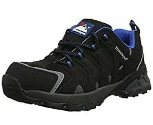 Himalayan Men's 4038 Safety Trainers, Black Cross Safety Boot Steel Toe Cap UK 8