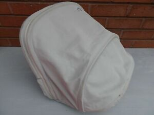 Quinny Buzz Xtra Extendable Large HOOD/ Canopy in beige fits Buzz Seat Unit