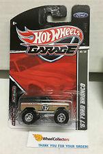 '67 Ford Bronco Brown * Hot Wheels Garage Series Rare Find * A50