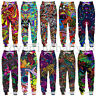3D Psychedelic Abstract Casual Pants MenWomen Jogger Trousers Fitness Sweatpants