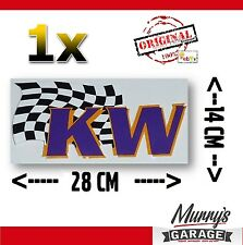 KW rosca chasis Pegatina Sticker decal letras cheers tuning Motorsport 14x28cm