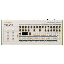 Roland TR-09 Rhythm Drum Machine & MIDI Step Sequencer USB or Battery Powered