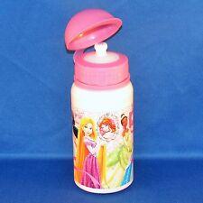 Disney Store - Princess - Small Aluminum Water Bottle - Cinderella, Ariel + NEW
