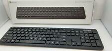 Microsoft Bluetooth Keyboard Black Model 1898