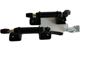 Bicycle Bike Fork Mounts  - 9mm - QR - Truck Bed Carrier Bundle Pack Of Two (2)