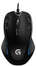 Logitech G300s 9 Programmable USB Optical Gaming Mouse for PC Mac