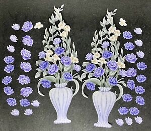 Carnation Crafts Vibrance Die Cuts Vernal  Blooms Collection (purple Colour Way)