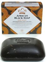 Nubian Heritage AFRICAN BLACK SOAP with Oats Aloe Vitamin E - ONE BAR 5 OZ