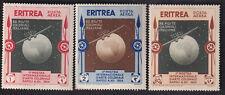 ERITREA INTERNATIONAL COLONIAL ART EXHIBITION NAPLES ITALY GLOBE 3v MINT STAMPS