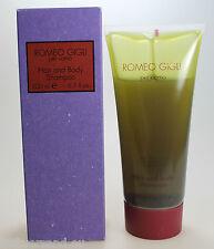 Romeo Gigli per Uomo 200 ml Hair and Body Shampoo Neu / OVP