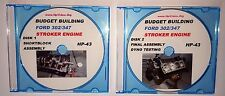 Budget Build Ford 5.0 302-347 Stroker Engine Video DVD $1500 Short Block 531 HP!
