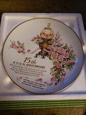 Avon 15th Anniversary Plate