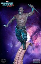 GUARDIANS of the GALAXIA 2: DRAX BATALLA DIORAMA SERIES 1/10 STATUE IRON STUDIOS