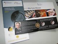 5 Euro Münze Prägeanstalt D Tropische Zone + Flyer + 2 x Broschüren Bundesbank
