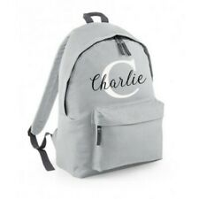Personalised Backpack School Bag Custom Printed Back Pack Ruck Sack College