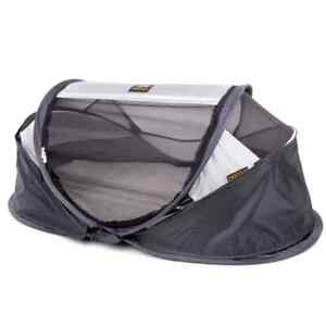 DERYAN Wind Screen Baby Luxe Grey Heavy Duty Portable Bed 100x30cm/110x35cm