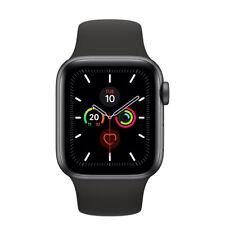 Apple Watch Series 5 44mm Space Grey Black Straps GPS Cellular