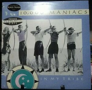 10,000 MANIACS In My Tribe Album Released 1987 Vinyl Collection USA