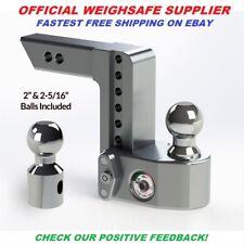 WS8-2 Weigh Safe Trailer Hitch Ball Mount OFFICIAL DEALER (10k) 8 inch drop