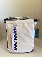 "PAN AM ""UNI Reloaded"" Bag Originals Certified Vintage Style Pan Am White"