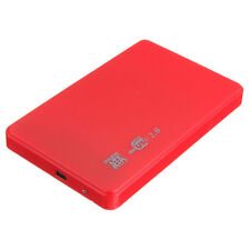 "2.5 ""SATA HDD HARD DISK HD USB 2.0 SLIM CASE BOX EXTERNAL DRIVE ADAPTE M8H5"