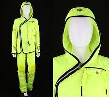 Cher Owned 4 Pc Cyberdog Yellow Raver Jacket Pants Chaps Bag Set Ensemble Coa