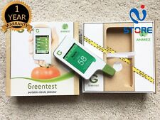 Greentest Nitrate Food Tester, Test Fruit Vegetables Meat, Portable Touch Screen