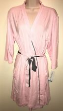 "JOCKEY Women's Modern Spring Poetry Wrap Robe ""POWDER PINK"" L NWT Sexy Lingerie"