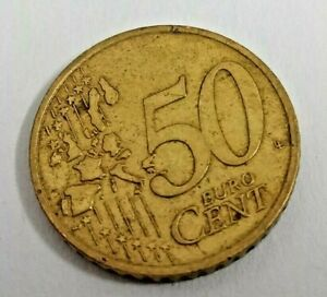 2002 A 50 Cents Euro Nordic Gold