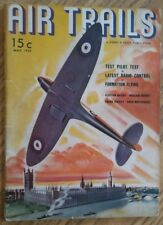 Air Trails #28 May 1939: R/C model experiments! 2 rubber ff plans, engine survey