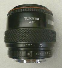 Tokina AF 28-70mm 1:2.8-4.5 52mm Macro Lens fits Pentax - Made in Japan